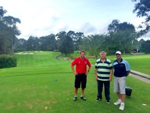 Construction industry networking through golf
