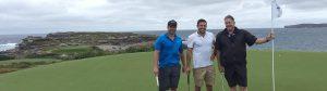 Master Builders exchange golf club corporate event